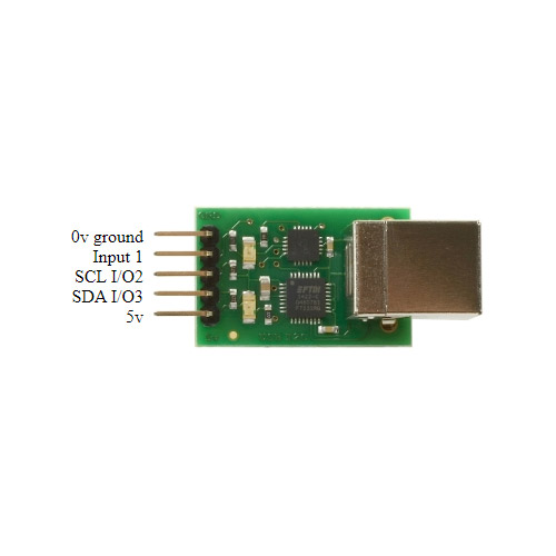 USB to I2C and IO pinout
