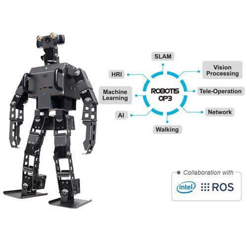 پلتفرم ربات انسان نمای بر مبنای سیستم عامل راس