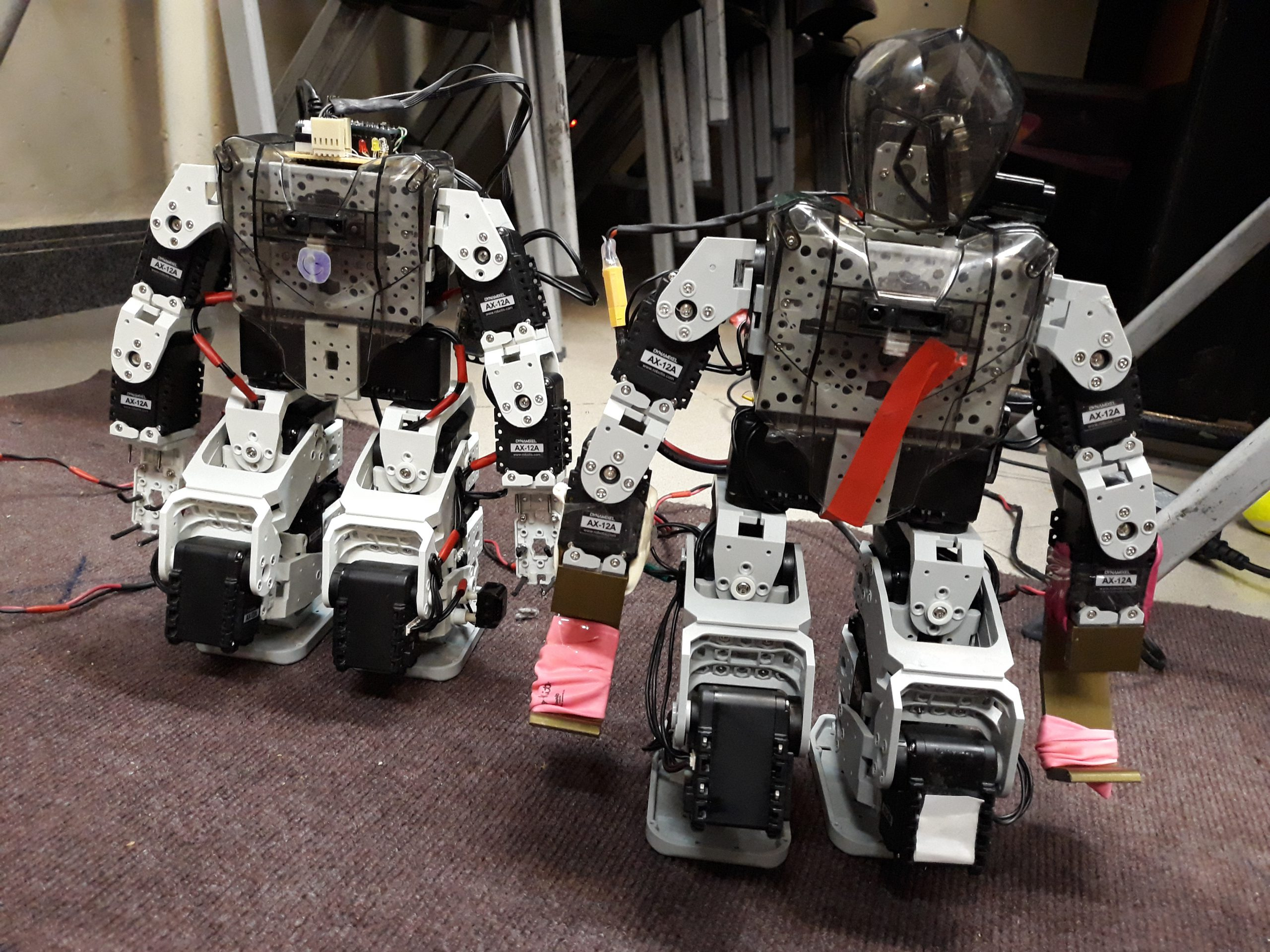 Pishrobot Humanoid Robot Classes