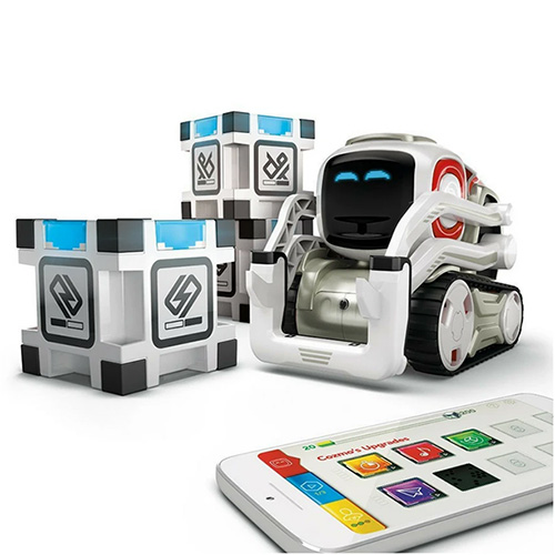 ربات هوشمند آنکی کازمو با مکعب های بازی