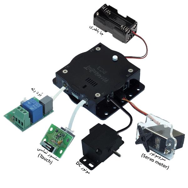گیرنده ریموت کنترل RC3