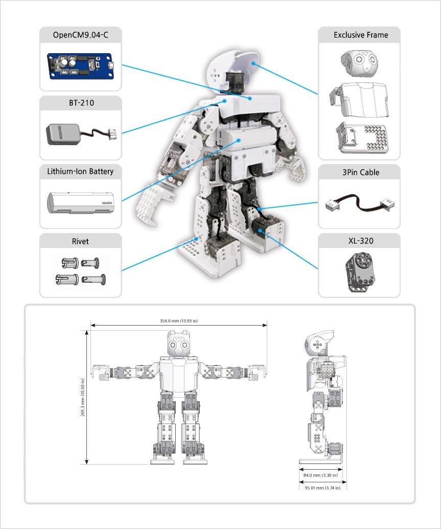 کیت ربات انسان نمای رباتیس