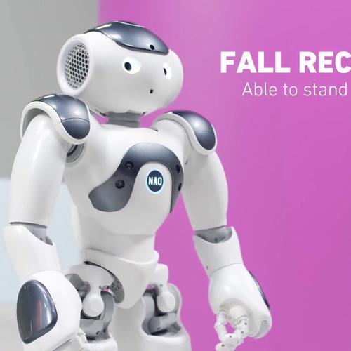 بلند شدن نائو ربات انسان نمای پیشرفته اجتماعی