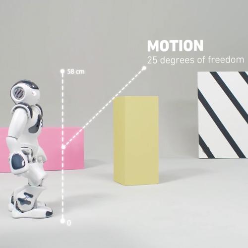 کنترل حرکت نائو ربات انسان نمای پیشرفته اجتماعی