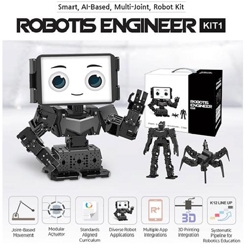 کیت ربات انسان نما، جانورنما، هوش مصنوعی و پرینت سه بعدی