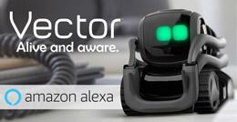 ربات هوشمند وکتور با هوش مصنوعی و آمازون الکسا