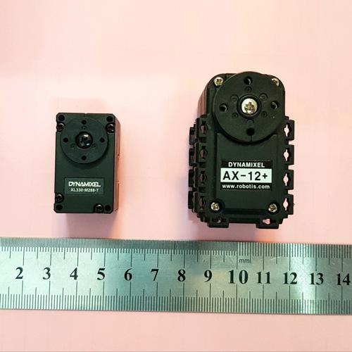 مقایسه Dynamixel XL-330-M288-T و AX-12A